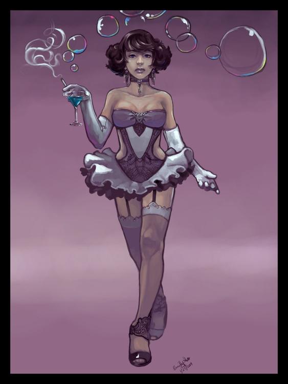 character costume design. perso - emilyso321 | ello