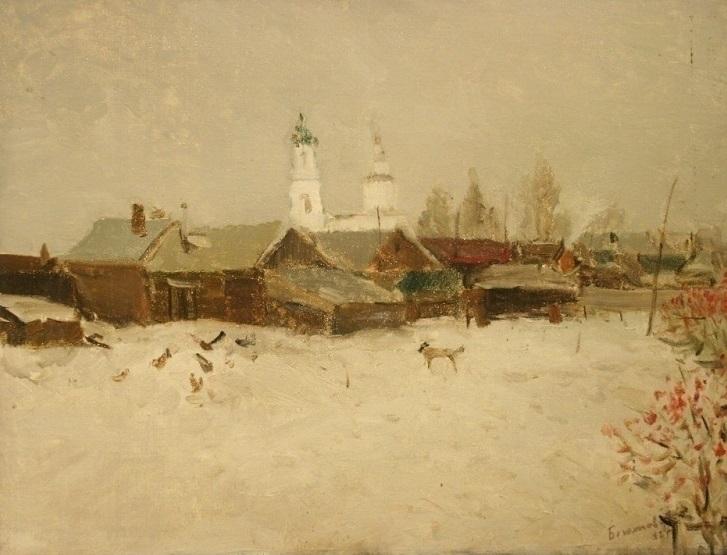 Borovsk (Russia), 80/90 canvas  - antonbogatov   ello