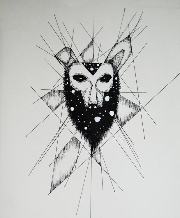 Fox - illustration, drawing, fox - kimwilgin | ello