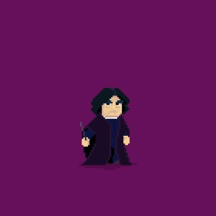 Day 24/365  - SeverusSnape - planckpixels | ello