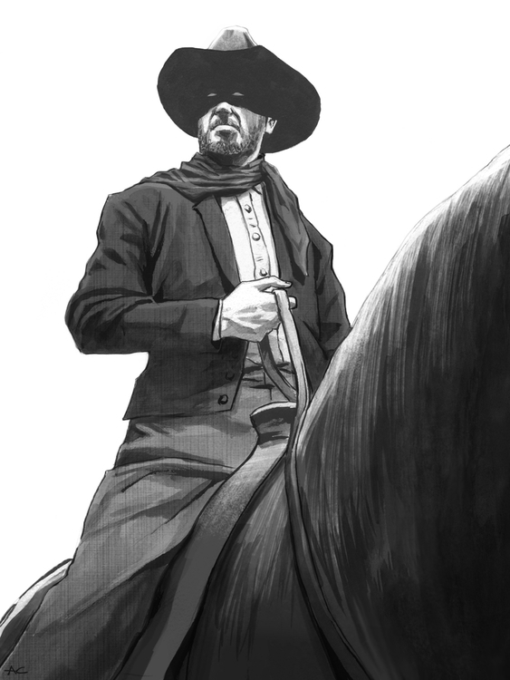 Lone Ranger - cowboy, western, loneranger - andrewcherry | ello
