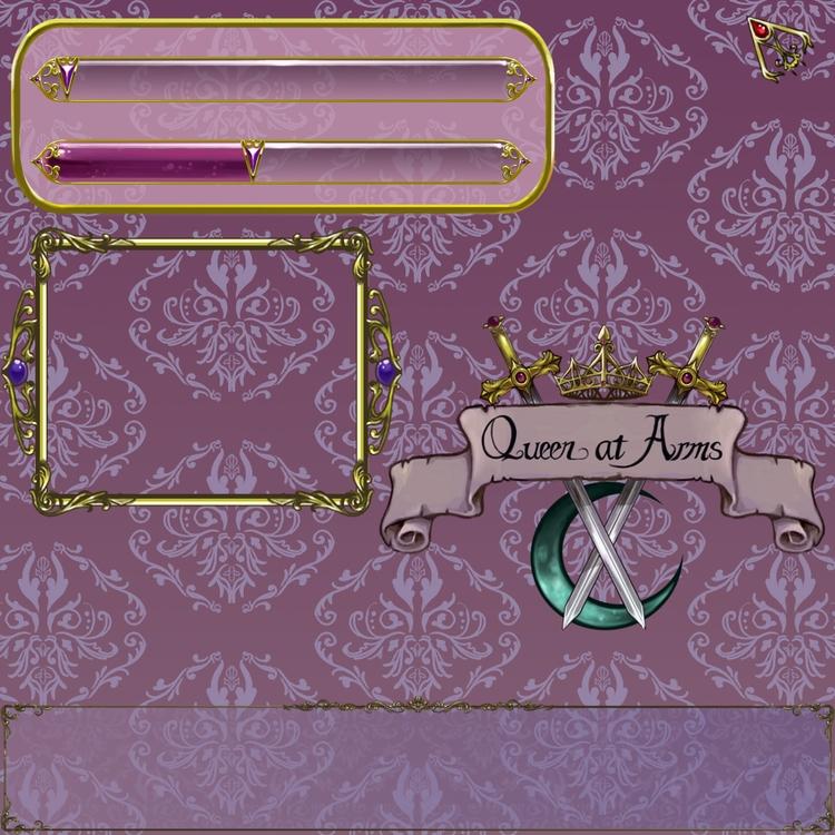 UI Design Queen Arms - illustration - emilyso321 | ello