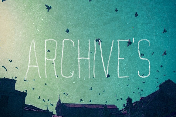 Archives (free font - typography - mynameisyanick | ello