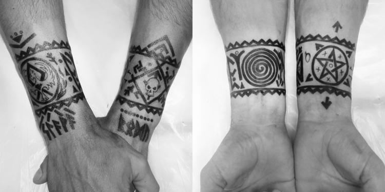 Tattoo bracelets - tattoo, tattoos - jelenalazic | ello