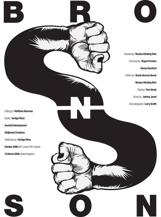 Bronson - illustration, design, typography - jovana-1168 | ello