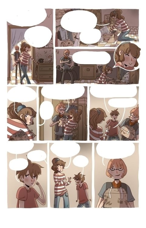 Page 5 comic published Italy Ed - silviavanni | ello