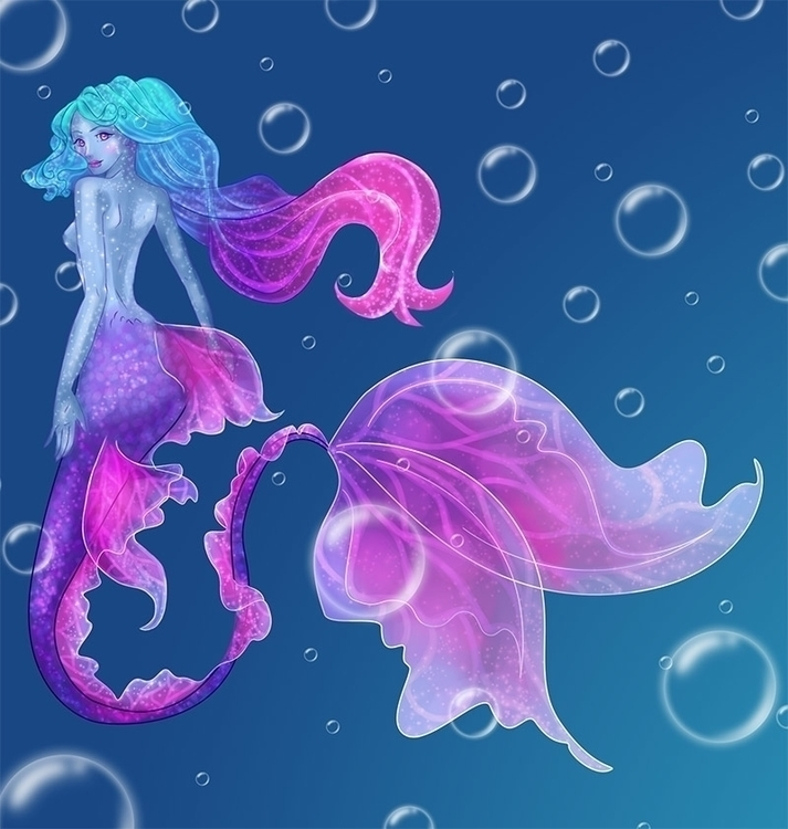 Beautiful Mermaid - beautiful, beauty - sarasheepy | ello
