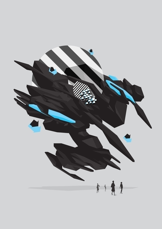Centaur Cosmonaut - illustration - organism-4233 | ello