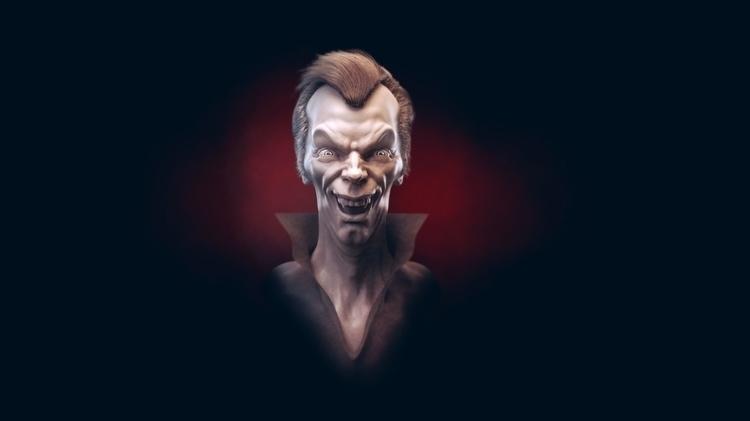 vampire concept (speed sculpt - characterdesign - krax-5388 | ello