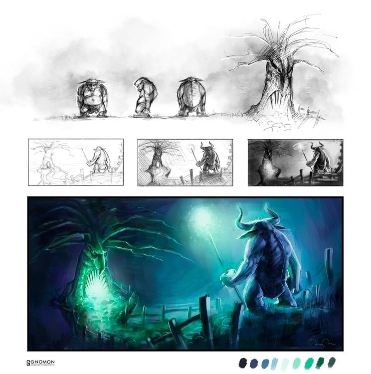 Arrival - digitalpainting - thebota   ello