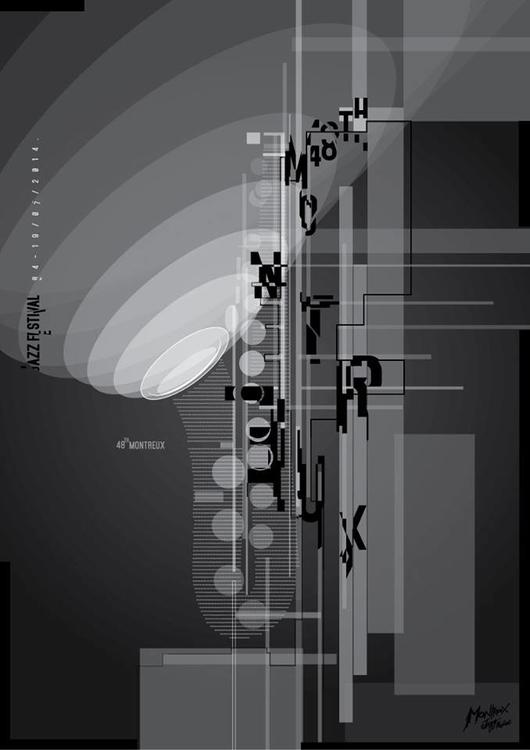 Montereux Jazz Festival II - illustration - jovana-1168   ello