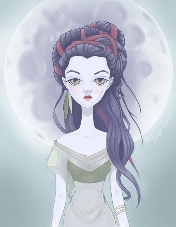 Original character: Moon Prince - corinnavargas | ello