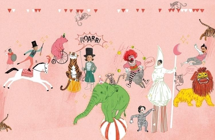 pencil,drawing,collage,children,animals,people,child,music,illustration - koopi | ello