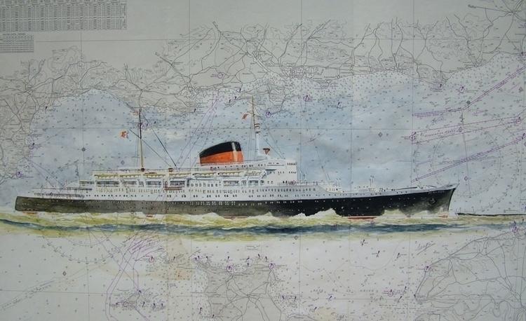 Flandre - painting, watercolor, illustration - egral   ello