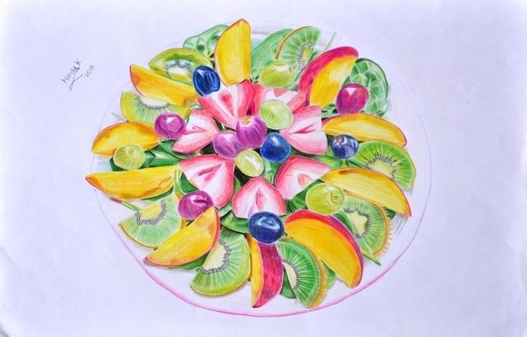 Eat healthy. Medium color penci - winky-3948 | ello