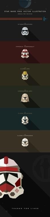fans Star Wars Free Vector Illu - krasnoshchok | ello