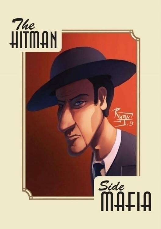 Hitman - ryanjames, illustration - ryanjames-2088 | ello