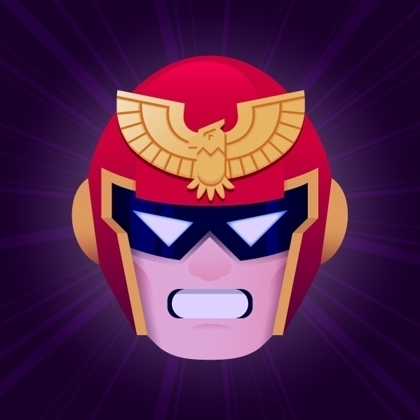Captain Falcon, entry Vector Da - jordivisser | ello