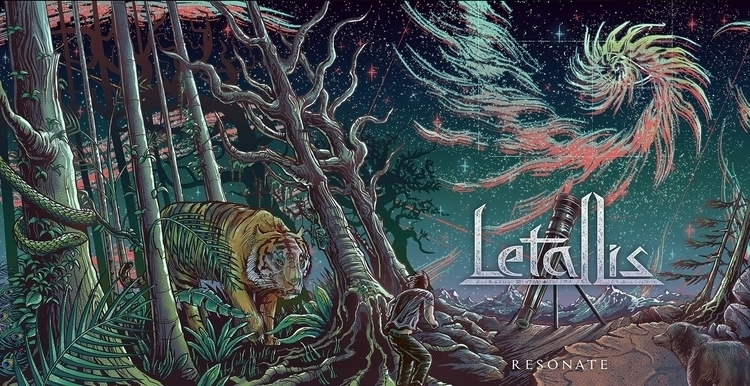 Letallis Resonate Album Sleeve - jeremiah-1121 | ello