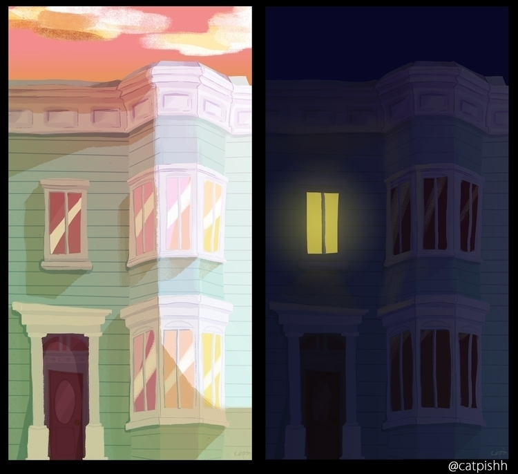 victorian house concept - layout - catpish   ello