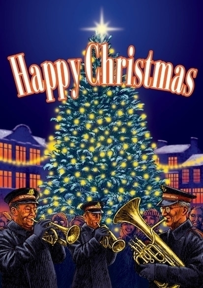 Christmas card - illustration, christmascard - dannybriggs   ello