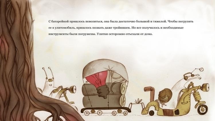 tale snails - illustration, book - natatulegenova | ello
