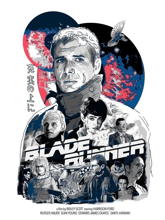 Blade Runner - illustration - darrenwamboldt | ello
