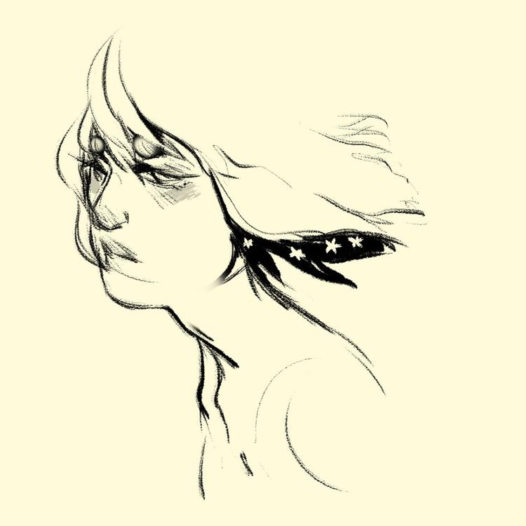 Star Boy 1 - sketches, characterdesign - imaniking | ello