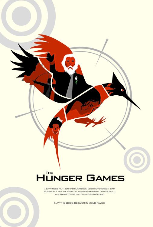 Hunger Games - illustration - darrenwamboldt | ello