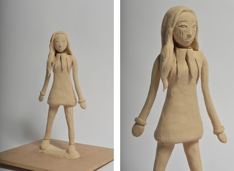 Character Design, 3D Maquette N - naomimcging | ello