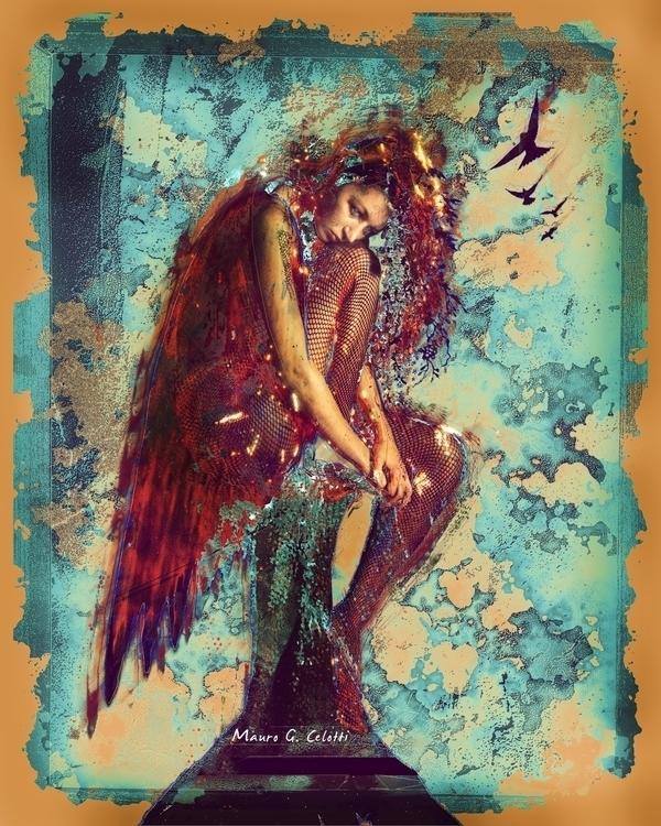 Fallen Angel - photography, art - magic-1072 | ello