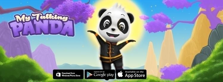 Talking Panda - characterdesign - peaksel | ello