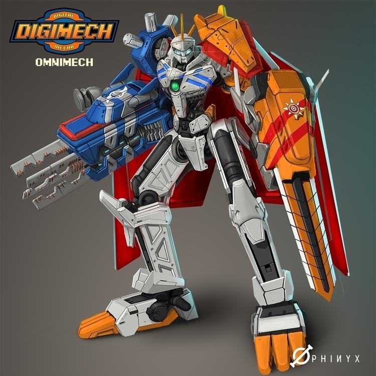 Omnimech! ready vote favorite D - kakadede | ello