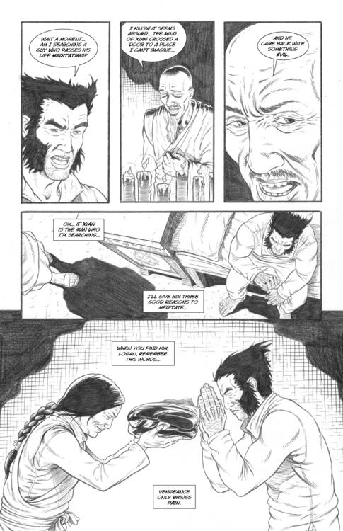 Nightmare page 19 - wolverine, comicbooks - alexfemenias | ello