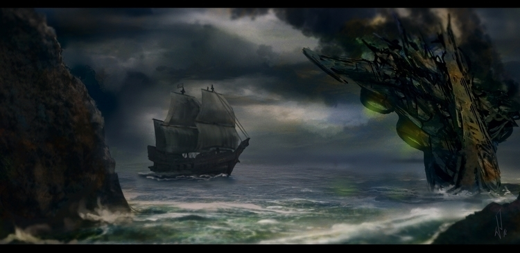 Environment - Movie - illustration - pietkaw | ello