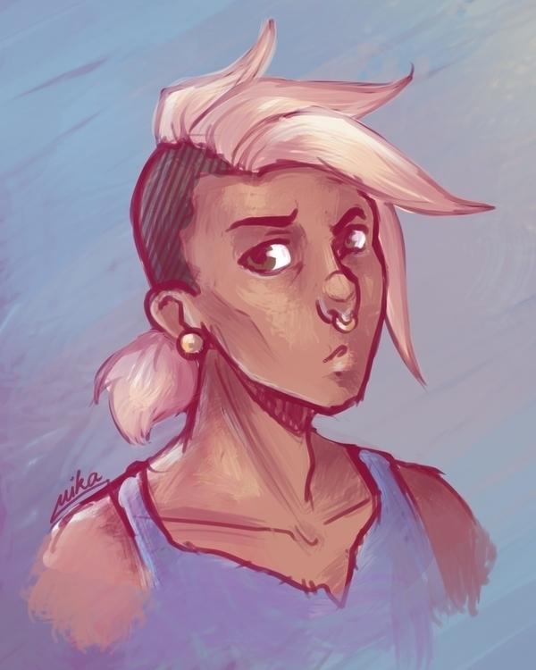 Unspecified character doodles - characterdesign - ryuutsuart | ello