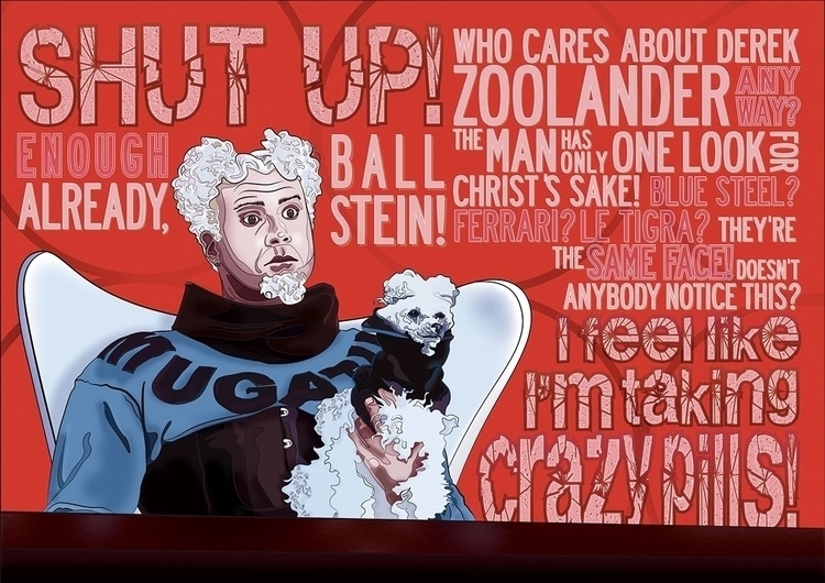 Mugatu Poster fun - illustration - joephelan | ello