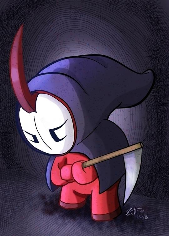 Lil' Reaper - cute, kawaii, creature - heiserz | ello