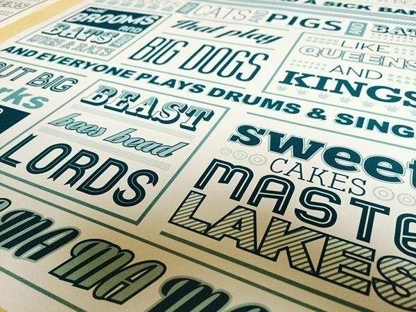 Dan Deacon Poster fun - typography - joephelan | ello