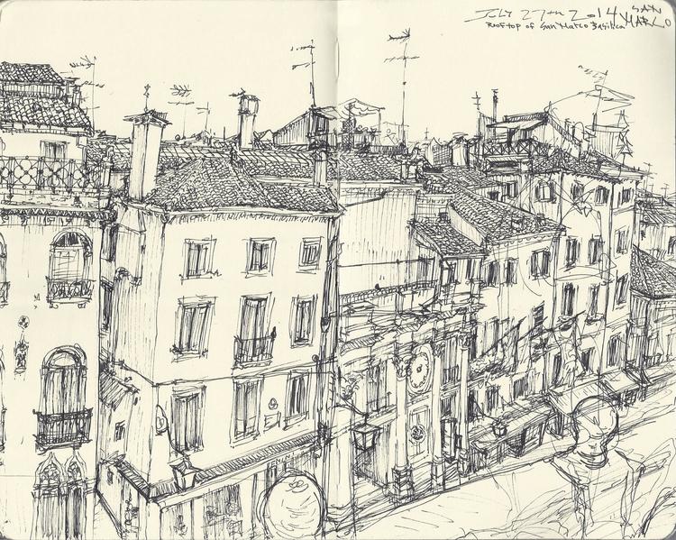 072714 Venice, Italy - sketchbook - kshin | ello