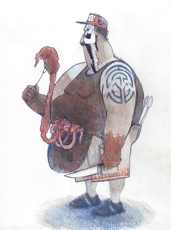 Zombie Chef III - bodyhorror, chef - elenabrunner | ello