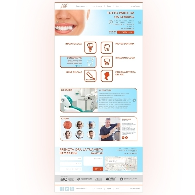 Web template created dentist of - aggressive041 | ello