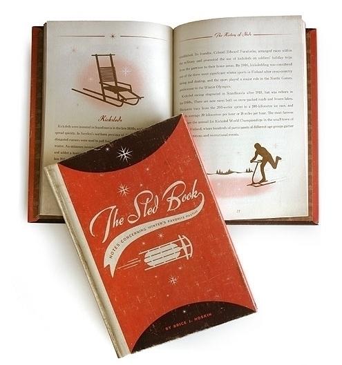 Sled Book - illustration, book, bookdesign - dbrko | ello