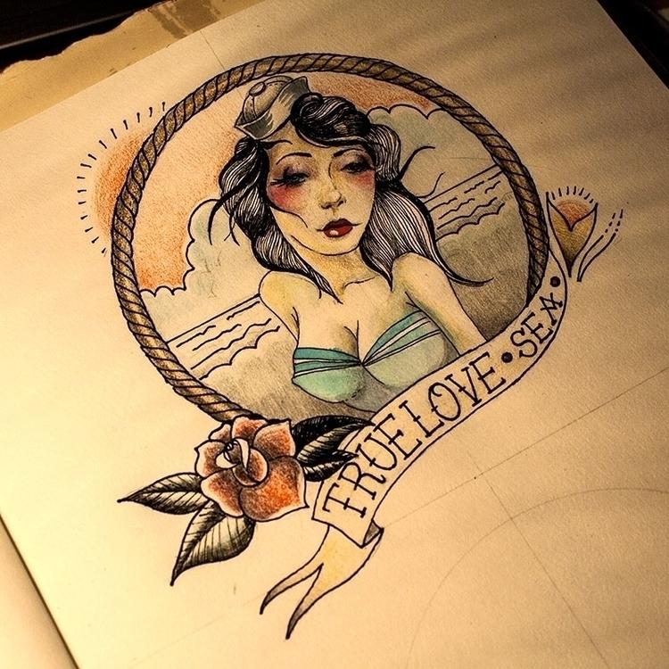 True love - illustration, drawing - karolina-4327 | ello