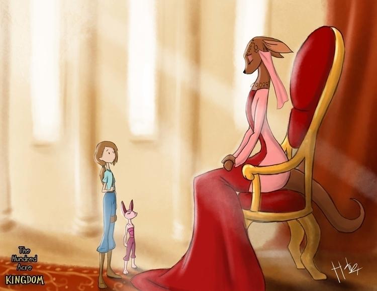 Queen son missing - hundredacrekingdom - hasaniwalker | ello