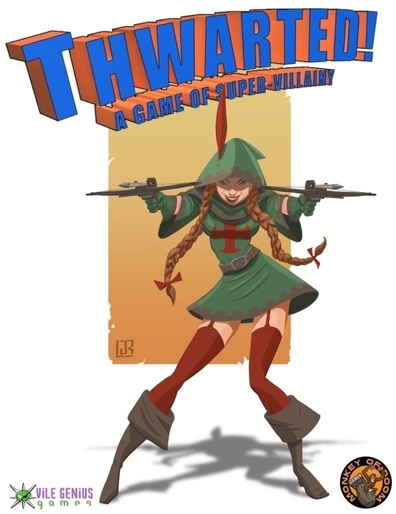 Thwarted card game - gameart, illustration - lazaroruiz | ello