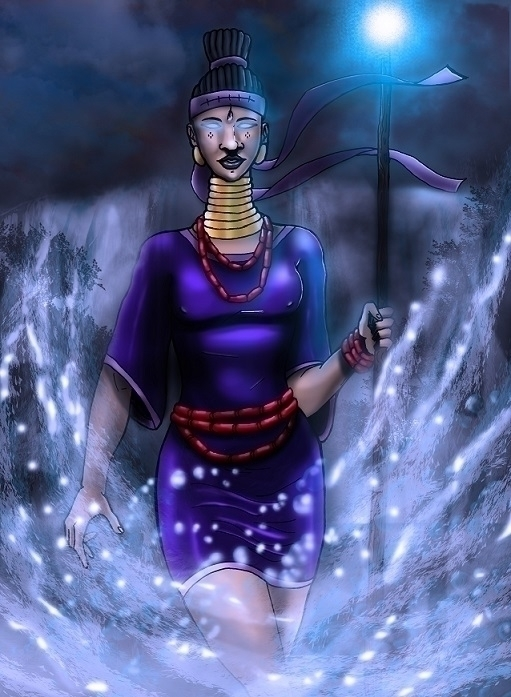 Title: Oya, 2014 river goddess  - akinwandeayodeji | ello