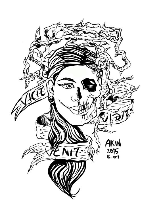 Venit, Vidit, Vicit - illustration - akinwandeayodeji | ello