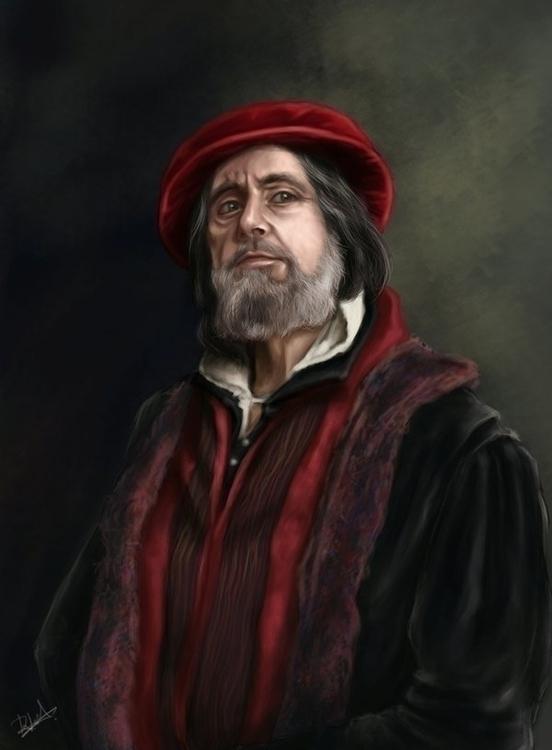 Merchant Venice - painting, character - ruxandralache | ello