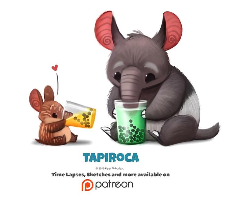 Daily 1352. Tapiroca - piperthibodeau | ello